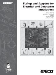 Fixings and Supports for Electrical and Datacomm Installations - tubtec