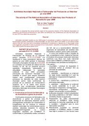 2010-1-VET.DRUG-FINAL doc - Veterinary Pharmacon - ROMEO T ...
