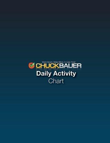 Daily Activity Chart