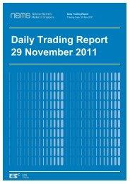 Daily Trading Report 29 November 2011 - EMC