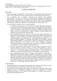 Delibera G.c. n. 93/2009 - Comune di Paese