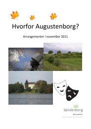 Hvorfor Augustenborg? - Sønderborg