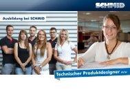 Technischer Produktdesigner - SCHMID Group