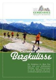 Der aktuelle Flyer über das Laufen vor grandioser Bergkulisse als .pdf