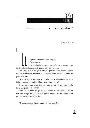 Tríptico del vacío / Severino Salazar - Si necesitas algún libro aqui ...