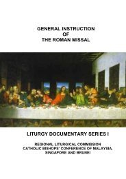 general instruction of the roman missal liturgy documentary series i