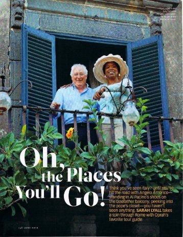 Oprah Magazine - Access Italy