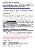 Tenniskurse , Festplatzbelegung, Fliegende-Karte ... - Hochschulsport - Seite 6