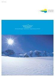 Broschüre Ferienwohnungen Pontresina (PDF 3.7 MB)