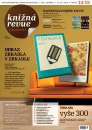 2012 / č. 14-15 - Literárne informačné centrum