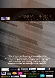 EMA Annual Report 2007/2008