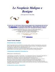 Tumori Oculari Benigni - Amedeolucente.it