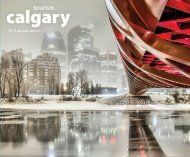 Annual Report 2012 - Tourism Calgary