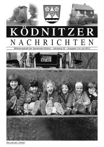 KÖDNITZER - Verwaltungsgemeinschaft Trebgast