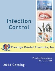 Infection Control - Prestige Dental Products