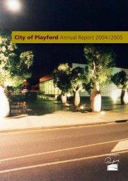 2004-2005 Annual Report.indd - City of Playford - SA.Gov.au