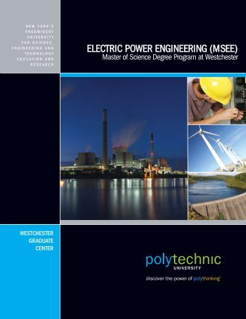 electric power engineering (msee) - New York's major educational ...