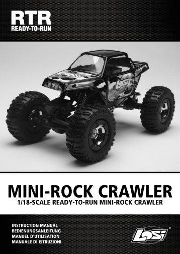 MINI-ROCK CRAWLER - Losi