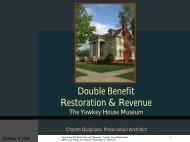 Yawkey House Restoration - Wisconsin Historical Society