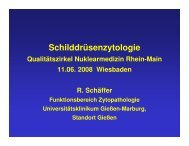 Schilddrüsen-Zytologie - Praxis für Nuklearmedizin
