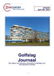 April - Mei 2013 - Zorggroep Oude en Nieuwe Land