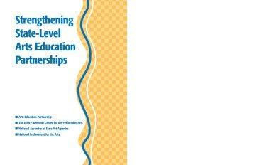 Strengthening State-Level Arts Education Partnerships