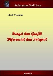 Studi Mandiri Fungsi dan Grafik Diferensial dan Integral