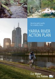 Yarra River Action Plan (PDF, 3.7mb) - Melbourne Water