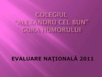 Promovabilitate Evaluarea Nationala 2011