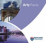 Arty Facts - Newcastle University
