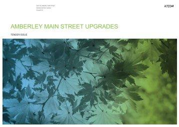 AMBERLEY MAIN STREET UPGRADES - Hurunui District Council