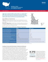 Idaho - The Institute for Children, Poverty, and Homelessness