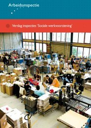 Veilig werken met machines in de Sociale ... - Inspectie SZW