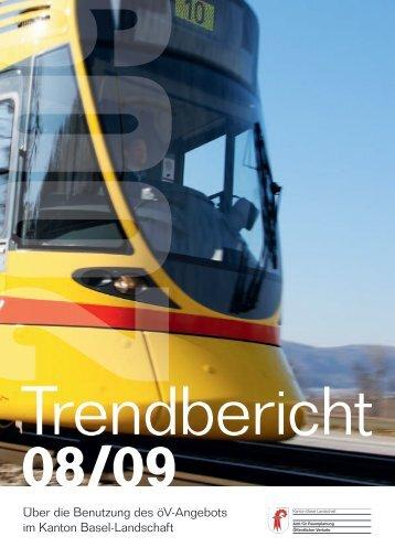 Trendbericht über die Benutzung des öV-Angebots im Kanton Basel ...