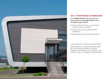 Scarica la brochure tecnica informativa di Thermo ... - Infobuild energia