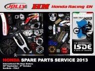 honda spare parts - OffroadChampions.com