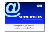 Semantic Web - WGISS Home Page - CEOS