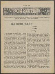 NA DRIE JAREN - Vakbeweging in de oorlog