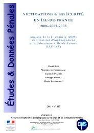 EDP n° 110 - Cesdip