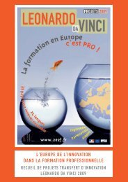 en 2009. - Agence Europe-Education-Formation France