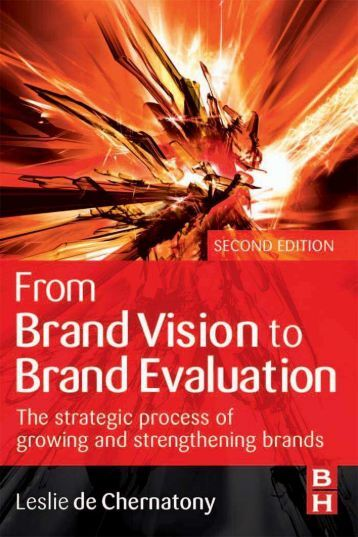 BRAND NAME PRODUCTS From Brand Vision to Brand Evaluation The ...