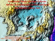 Continental Margin Geology of Korea : Review and constraints on ...