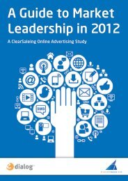 A Guide to Market Leadership in 2012 - Knowledge Bank