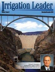 November/December 2010 Volume 1 Issue 2 - Westlands Water ...
