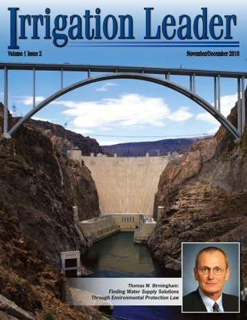November/December 2010 Volume 1 Issue 2 - Westlands Water ...