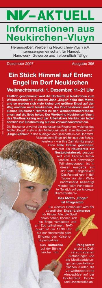 Nr. 396 :: Dezember 2007 - Werbering Neukirchen-Vluyn