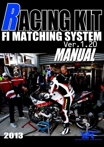 1–5 インストール方法 - Yamaha Racing Parts