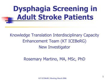 Adult assessment dysphagia dysphagia in manual series