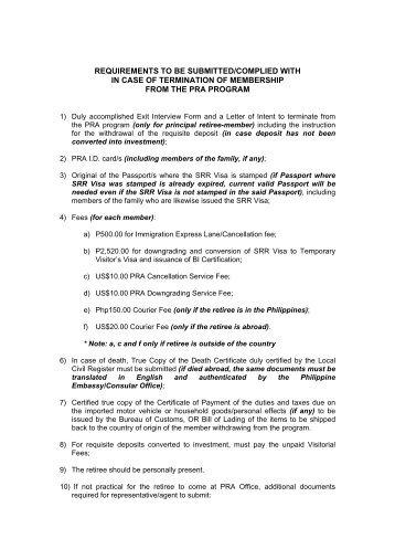 Requisiti Per Una Carta Per Uscire Dal Sistema Dhi ...