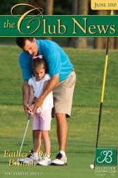 Issue - Bellefonte Country Club